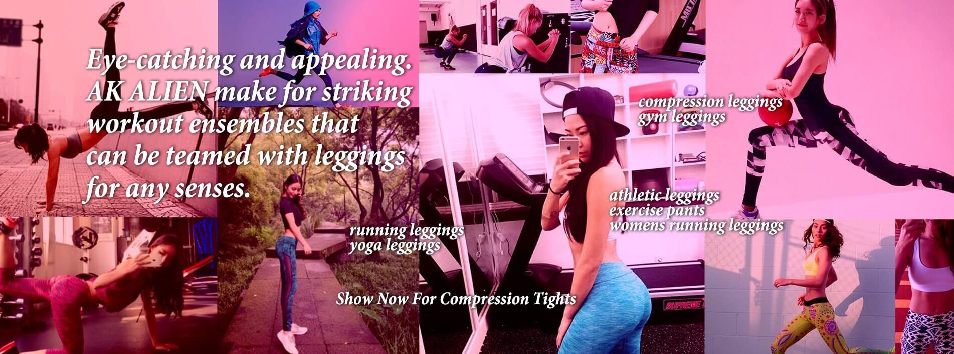 running leggings gym leggings athletic leggings of eye-catching and appealing.